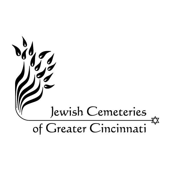 jewish cemeteries cincinnati logo